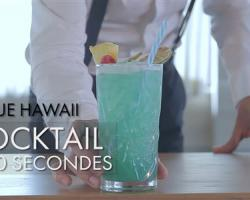 Cocktail en 60 secondes : Blue Hawaii