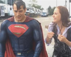 Superman refroidi par l'Ice Bucket Challenge