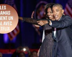 Obama signe un accord Netflix