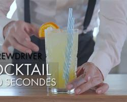 Cocktail en 60 secondes : Screwdriver