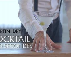 Cocktail en 60 secondes : Martini Dry