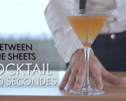 Cocktail en 60 secondes : Between The Sheets