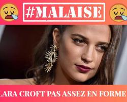Alicia Vikander aka Lara Croft : Victime de body shaming !