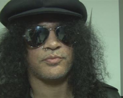Slash, le guitariste de Guns N' Roses recompensé