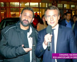 TPMP : Cyril Hanouna copine en direct avec... Emmanuel Macron !