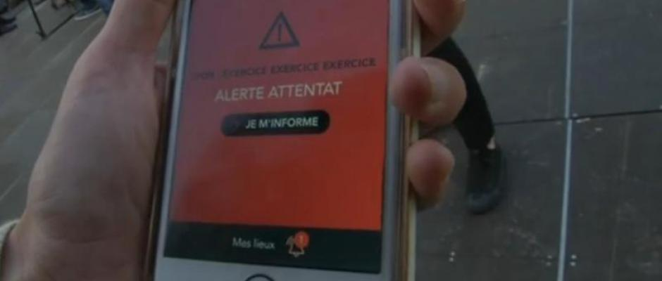 "Euro 2016 : une application ""alerte attentat"" lancée par le gouvernement"