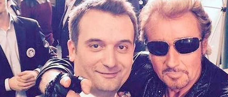 Johnny Rock : le sosie de Johnny Hallyday met le feu pour le Front National !