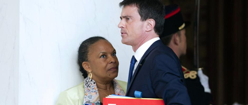 """Je peux devenir méchante !"" : Christiane Taubira menace Manuel Valls"