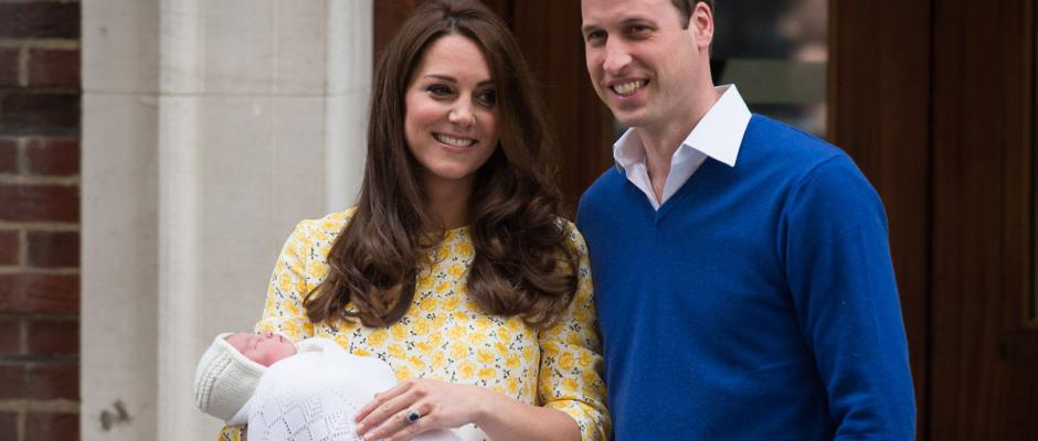 Royal Baby : on connait le prénom de la fille de Kate et William