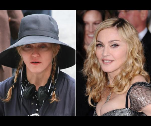 Stars Sans Maquillage Attention Les Yeux Planet