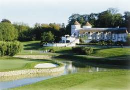 Terrain et parcours 18 trous, Golf du Paris International Club, Val-d'Oise
